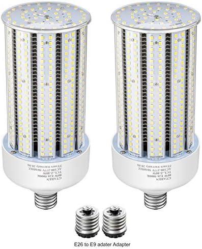 2 Pack 80W LED Corn Bulbs E26 E39 Base LED Light 5000K AC110 277V LED Replacement Metal Halide product image