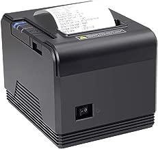 80mm Thermal Receipt Pos Printer Impresora térmica, MUNBYN USB Serial Ethernet LAN High Speed Printer, ompatible with ESC/POS Print Commands Support Mac Window