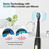 Zoom IMG-2 spazzolino elettrico fairywill ricaricabile sonico