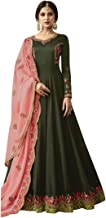 Indian Ethnic Long Anarkali Salwar Kameez Suit With Heavy Dupatta Party Wear Collection 7351
