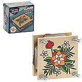 retrogames 5010792620107 Retro Games Family Fun-Wooden Flower Press Christmas Stocking Filler