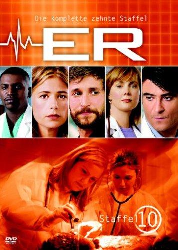 ER - Emergency Room, Staffel 10 [3 DVDs]
