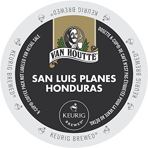 24 Count - Van Houtte Honduras Extra Bold Coffee K Cup For Keurig K-Cup Brewers Velvety & Woodsy flavor (Net Wt. 10.16 oz)