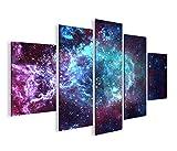 islandburner Bild Bilder auf Leinwand Sternennebel Sterne