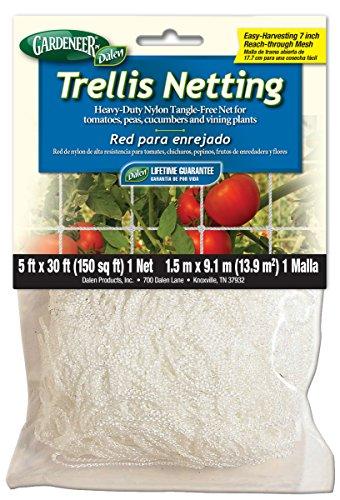 Dalen 100055887 756635701002 Gardeneer by Trellis HeavyDuty Nylon TangleFree Net 5#039 30 ft