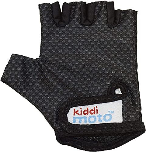 KIDDIMOTO Guantes de Ciclismo sin Dedos para Infantil (niñas y niños) - Bicicleta, MTB, BMX, Carretera, Montaña - Karbon...