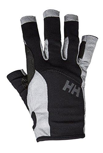 Helly Hansen Unisex  Sailing Glove Short Segelhandschuhe, Schwarz (Black), X-Small