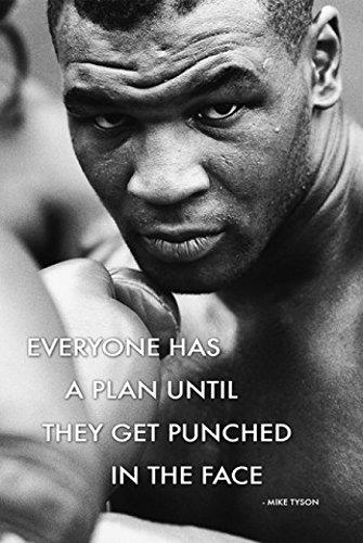Mike Tyson/Quote Poster Drucken (60,96 x 91,44 cm)