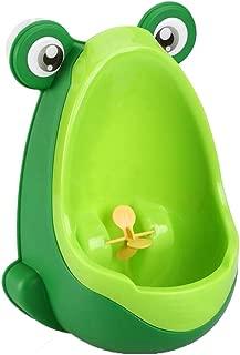 Doitsa Urinoir pour Enfants Gar/çon Portable Colorful Frog Forme de Grenouille Int/éressante Bleu Pee Trainer de Salle de Bain