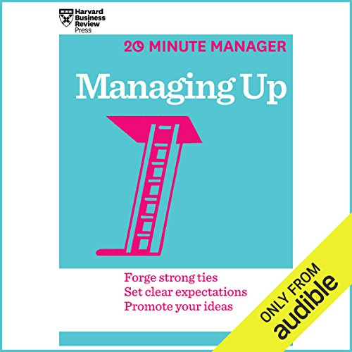 Managing Up audiobook cover art