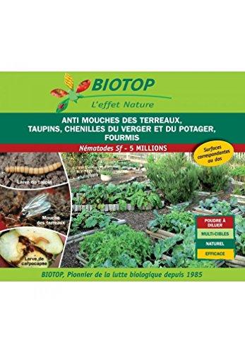 Biotop – Nematode Sf antimoscas terrales, orugas, hormigas 5 m para 10 m2