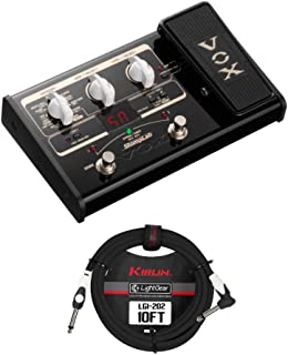 Vox StompLab 2G Modeling Guitar Multi-Effects Pedal with Guitar Cable