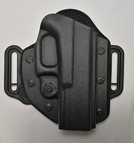 Vega Holster pistolera de Polímero termoplástico de Cinturón vhh8Pancake Negro