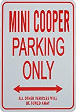 mini cooper sign