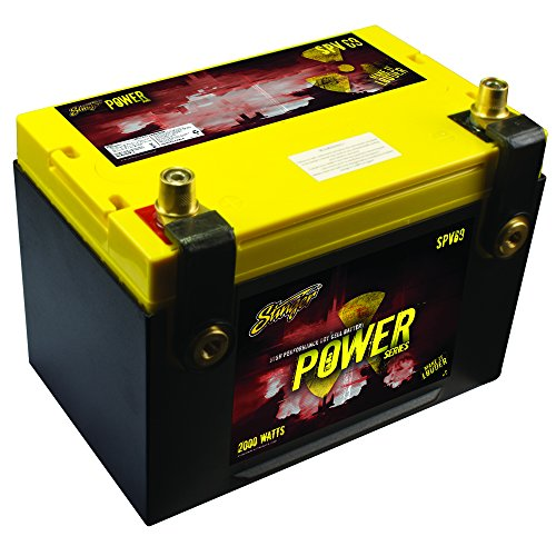 Stinger SPV69C 1100 Amp Power Series Dry Cell Battery with Protective Steel Case for Systems Up to...