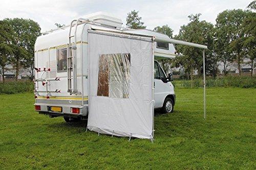 Eurotrail universele zijwand met raam voor camperen met cassette luifel ETCT0027.275W