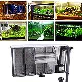 Cuelgue del filtro del acuario Filtro del tanque de peces Filtro de potencia del tanque de peces colgante externo(SM-840)