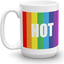 Rainbow HOT 15 oz Coffee Mug, Looks Like The mug From Big Bang Theory, Funny, Quote, TV, Original Gift Idea from For You By Rose, 8 Different mugs, Make It A Set