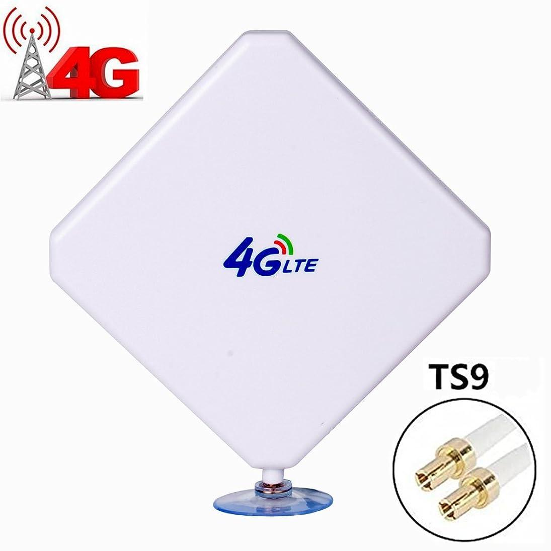 シーフード強盗スカリーH-ber 無線LANルータ、モバイルブロードバンドのためのTS9高利得35dBi3Gの4G LTEのアンテナデュアルMIMOネットワークイーサネット屋外ANTENNE信号受信ブースターアンプ