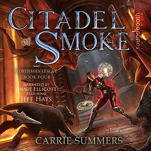 Citadel of Smoke audiobook cover art