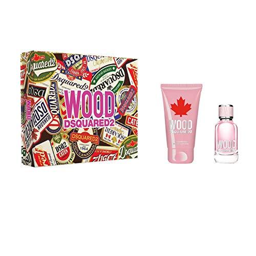 DSQUARED2 Perfumes Wood pour Femme Set EdT + Bodylotion Edizione Limitata