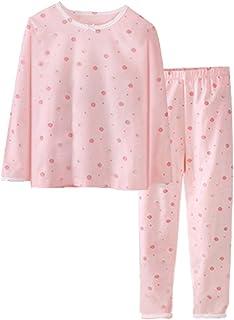 DHASIUE a Maniche Lunghe Pigiama da Bambina con Unicorno e Elefante 2 Pezzi 100/% Cotone Vestiti per Bambini da 1 a 7 Anni