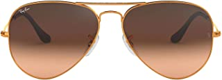 Ray-Ban Unisex Rb 3025 Sunglasses, Bronze, 55 UK