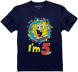 Official Spongebob - 5th Birthday I'm 5 Toddler Kids T-Shirt