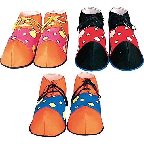 Widmann–ac1882–Zapatos de payaso Augusto Assorti , Modelos/colores Surtidos, 1 Unidad