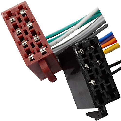 AERZETIX - C40122 - Adapter kabel - stecker ISO USB RCA - für autoradio
