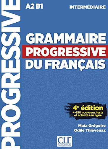 Grammaire progressive du français - Niveau intermédiaire. Buch + Audio-CD: 4ème édition avec 680 exercices. Schülerbuch + Audio-CD + Online