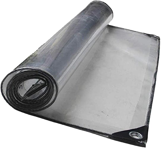 HCYTPL Baches claires de Tente, bache imperméable Transparente pour l'usine extérieure de Camping de Jardin jeté - 450g   m2,1.13  3m