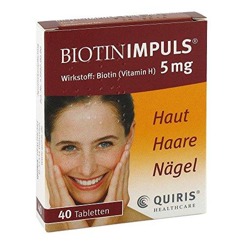 BIOTIN IMPULS 5 mg Tabletten 40 St Tabletten