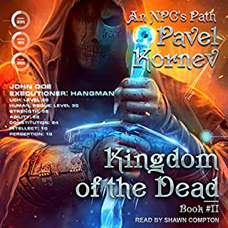Kingdom of the Dead audiobook cover art
