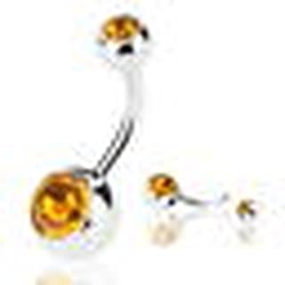 Best citrine belly ring Reviews