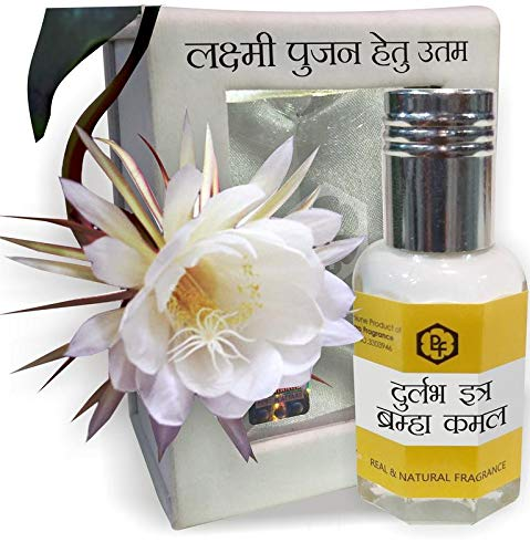 Parag Fragrances Lotus/Kamal Attar 3ml (Most Precious & Rare Attar) Best Attar For Worship, 0% Alcohol, Real & Natural, 100% Pure & Undiluted
