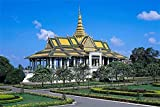 5D Diamond Painting Diy Cambodia Royal Palace Round Drill Embroidery Cross Stitch For Home Wall Decor 30x40 CM