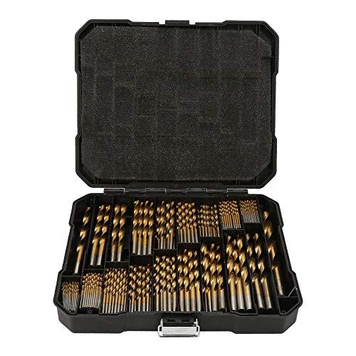 Uitla Titan HSS boormachine-accessoireset, 230 stuks, boring kunststof, hout, metaal, incl. koffer