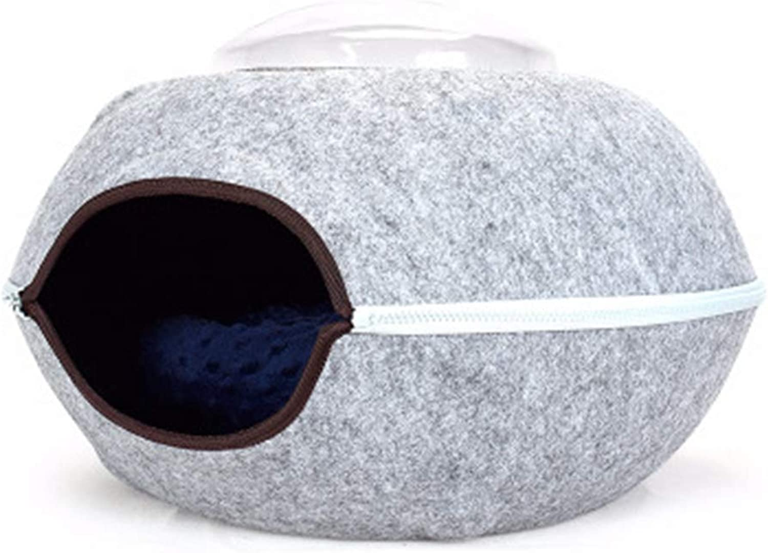 AosyGFR Pet Supplies Cat Bed Small Dog Pet Nest Pet Bed Felt Cat Litter