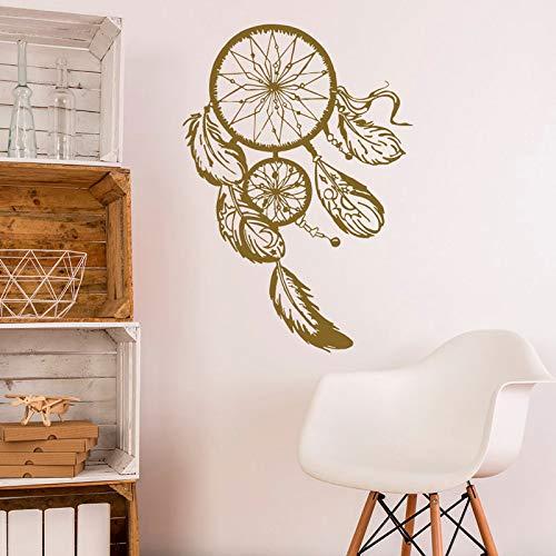 Estilo decorativo bohemio pegatinas de pared calcomanías de pared dormitorio en casa atrapasueños decoración pegatinas calcomanías otro color 57x81cm
