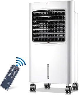 Kücheks Enfriador de Aire SYLJ Evaporativo portátil 4-en-1 Calefacción Humidificación Refrigeración y función de purificación, Aire Acondicionado móvil Compacto, Control Remoto Inteligente