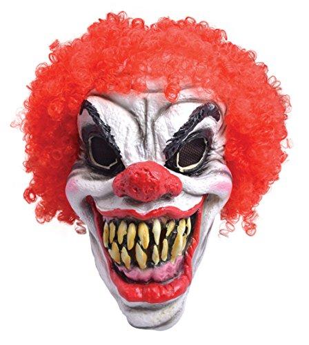 Smiffys Clown Maske Evil Red