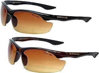 Men Women Hd High Definition Anti Glare Driving Sunglasses Wrap Sports Eye wear