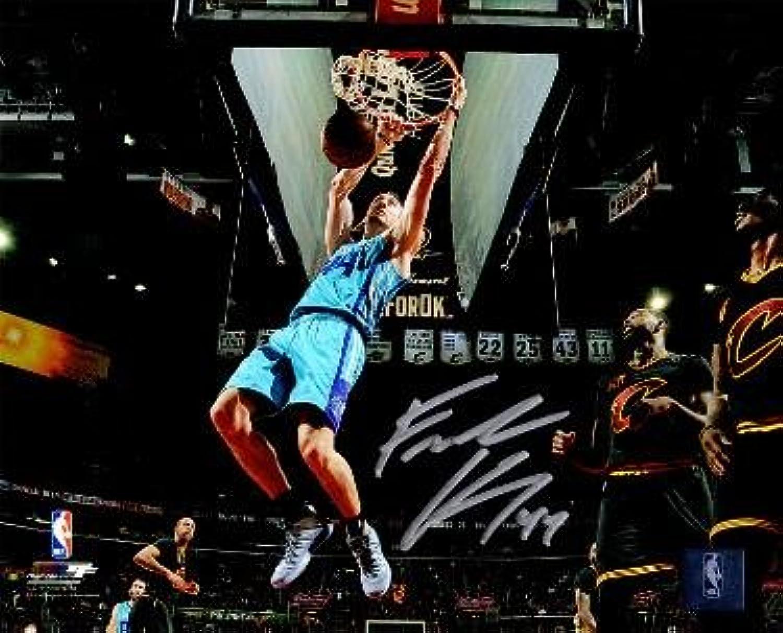 Frank Kaminsky Autographed Picture  8x10 44 Horizontal Slam Dunk  Autographed NBA Photos