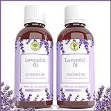 Lavendelöl Set 2 x 25 ML   Grüne Valerie  Naturrein aus echtem Lavendel (Lavandula Angustifolia)   Einschlafhilfe & Raumduft  Diffuser  Aromatherapie  Therapeutic Grade A + Hologramm