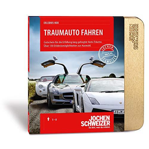 Jochen Schweizer Erlebnis-Box 'Traumauto Fahren', mehr als 120 Erlebnisse für 1 Person, Gutschein inkl. Geschenk-Box