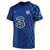 Nike 2021–2022 Chelsea Vapor Match Home Fußball T-Shirt, Herren, blau, XL