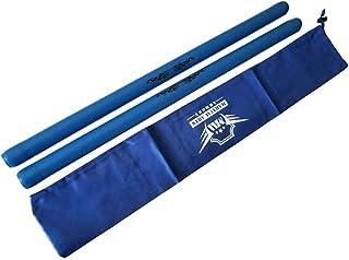 Blue Foam Escrima with Armory Carry Bag Case - Pair