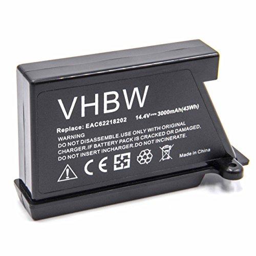 vhbw Li-Ion batería 3000mAh (14.4V) para robot limpiasuelos