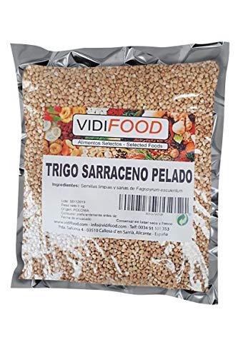 Buchweizen - 1kg - Sarraceno-Weizen für Keto und vegane und glutenfreie Getreidepfannkuchen - Getreide für Soba-Nudeln